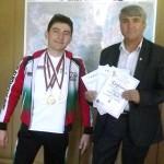 Алпай Ибрям от Черноочене вече с три златни медала по канадска борба за хора с увреждания
